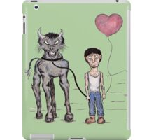 Jeff and The Beast iPad Case/Skin