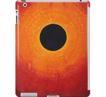 Black Hole Sun original painting iPad Case/Skin