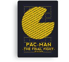 Pac Man Film Poster Canvas Print
