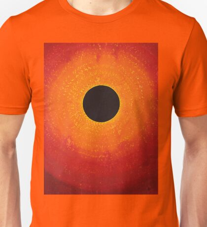 Black Hole Sun original painting Unisex T-Shirt