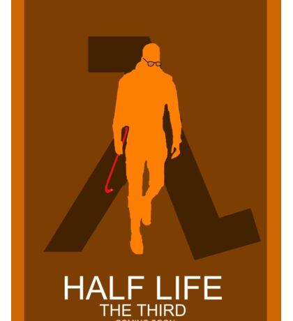 Half Life 3 Film Poster Sticker