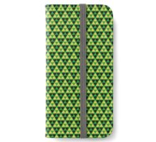 Zelda - Triforce Pattern iPhone Wallet/Case/Skin