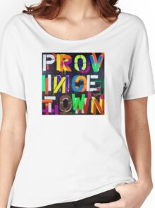 """""""Provincetown at Night"""" Dave Hay • haydave.com Women's Relaxed Fit T-Shirt"""