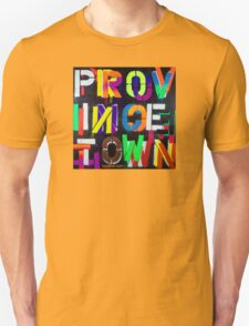 """Provincetown at Night"" Dave Hay • haydave.com Unisex T-Shirt"