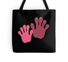 Cherry Hands Tote Bag