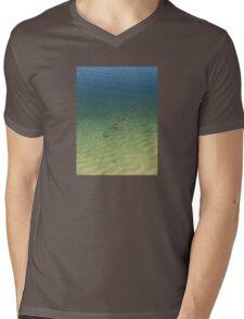 swimming ducks Mens V-Neck T-Shirt