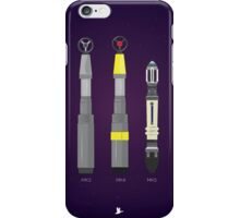Sonic Screwdriver collection iPhone Case/Skin
