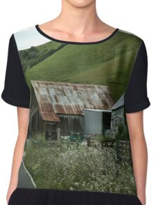 Rural Life Chiffon Top