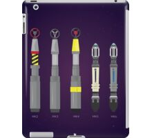Sonic Screwdriver collection iPad Case/Skin