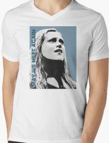 Clarke - The 100 - Minimalist Mens V-Neck T-Shirt