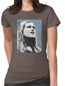 Clarke - The 100 - Minimalist Womens Fitted T-Shirt