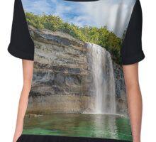 Spray Falls - Pictured Rocks National Lakeshore     Michigan Chiffon Top