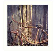 Vintage Rust Art Print