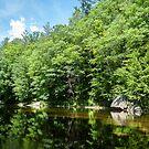 Baker River, Rumney NH by Rebecca Bryson