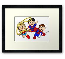 ode to the heroes Framed Print