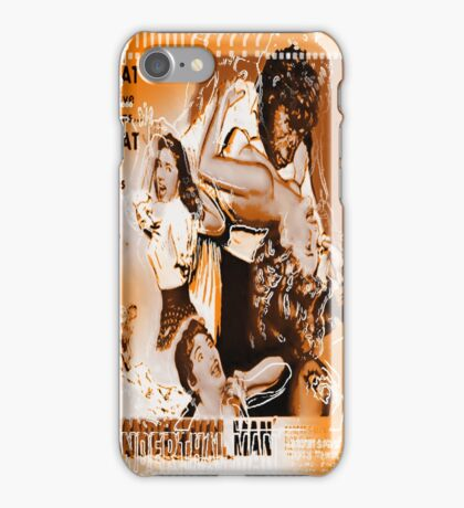 neanderthal man iPhone Case/Skin
