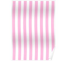 Pink and White striped Victoria's Secret inspired Poster