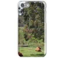 A time for relaxing iPhone Case/Skin