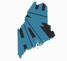 Maine HOME state design Kids Tee