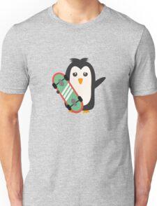 Skateboard Penguin   Unisex T-Shirt
