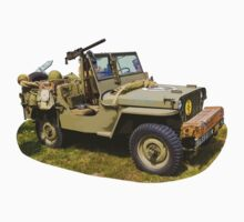 Willys World War Two Army Jeep Kids Clothes