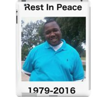 RIP REST IN PEACE ALTON STERLING #JUSTICEFORALTONSTERLING iPad Case/Skin