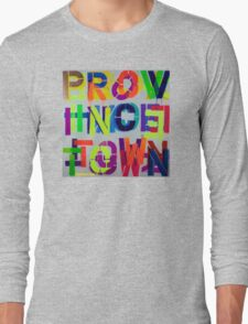 """Provincetown • Blue Sea"", Dave Hay,  haydave.com Long Sleeve T-Shirt"