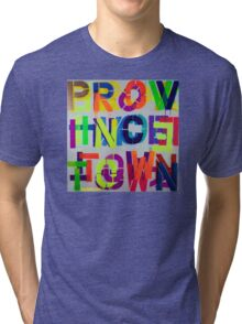 """Provincetown • Blue Sea"", Dave Hay,  haydave.com Tri-blend T-Shirt"
