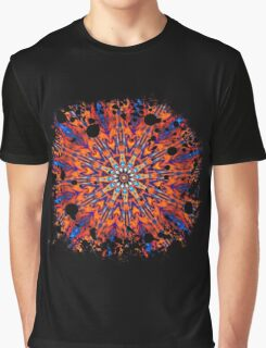 Psychedelic Splatter Graphic T-Shirt