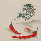 Chili Peppers, Plant, Leaves - Green Red by sitnica