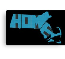 Massachusetts HOME state design Canvas Print