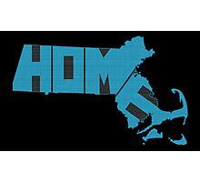 Massachusetts HOME state design Photographic Print