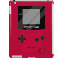 Gameboy Color 2.0 - Red iPad Case/Skin