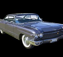 1960 Cadillac Luxury Car by KWJphotoart