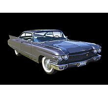 1960 Cadillac Luxury Car Photographic Print