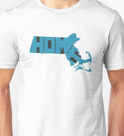 Massachusetts HOME state design Unisex T-Shirt