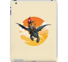 Toothless Targaryen Orange iPad Case/Skin