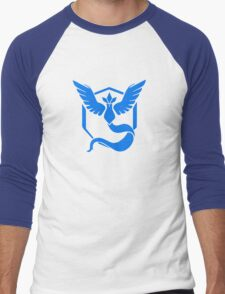 Team Mystic Pokemon Go Men's Baseball ¾ T-Shirt