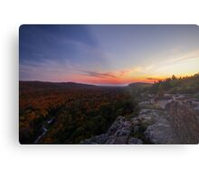 Lake of the Clouds - Porcupine Mountains, Michigan Metal Print