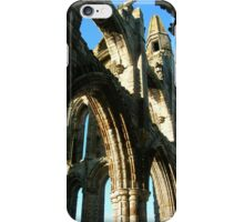 Whitby Abbey Arches iPhone Case/Skin