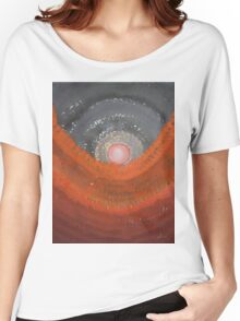 Canyon Wave original painting Women's Relaxed Fit T-Shirt