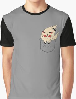 Kirara Pocket Graphic T-Shirt