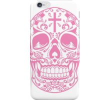 Sugar Skull, Day Of the Dead, Halloween Pink SugarSkull iPhone Case/Skin