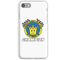 Special Cup Champion iPhone Case/Skin
