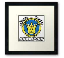 Special Cup Champion Framed Print