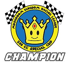 Special Cup Champion Photographic Print