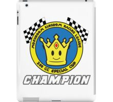 Special Cup Champion iPad Case/Skin
