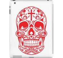 Sugar Skull, Day Of the Dead, Halloween Red SugarSkull iPad Case/Skin