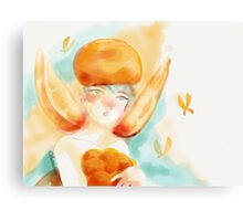 Orange Fairy Canvas Print