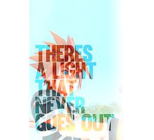 There's a light that never goes out Photographic Print